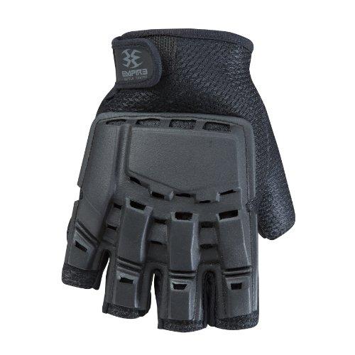 "Empire BT Halbfinger Handschuhe ""Hard Back"" Schwarz S/M"