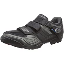 Shimano ESHM089G430LE - Zapatillas de ciclismo MTB para adultos, color Negro, talla 47