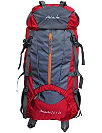 Attache 1021R Climate Proof 75Lt Red Rucksack, Hiking Bag