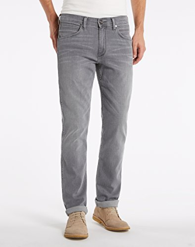 Wrangler Herren Greensboro Hidden Paths Jeans Grau (Hidden Paths 75S)