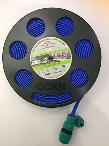 DKN Black Hose Reel with 10M Non-Toxic Hose