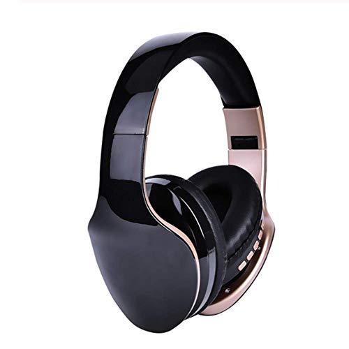 YWT Bluetooth Over Ear Kopfhörer, Faltbare HiFi-Stereo-Funkkopfhörer Micro SD/TF, mit Mikrofon, für iPhone Android PC Handy MP3