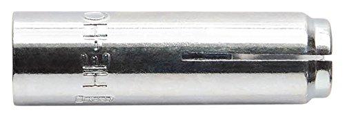 INDEX Fixing Systems HEHOM10 [HE- HO Anclaje Hembra con Cono Interior para Grandes Cargas. Homologado ETE Opción 7 para Aplicaciones estructurales (M10 x 40 Ø12), 40 mm, diámetro de 12 mm, Set de 50 Piezas