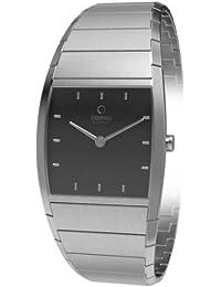 Obaku Harmony V142LCBSC - Reloj analógico de cuarzo para mujer, correa de acero inoxidable color plateado