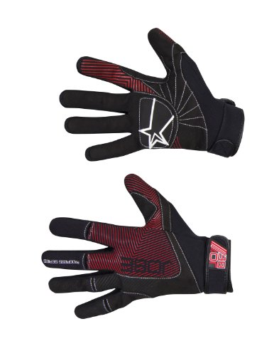 Jobe Progress Gloves Swathe black/red-S