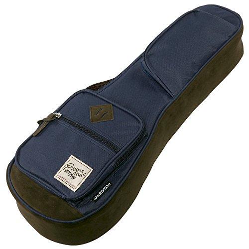 Ibanez iubs541nb Powerpad Sopran-Ukulele Gig Bag, navy blau