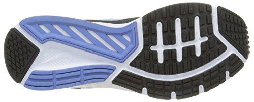Nike Wmns Dart 11 Scarpe da ginnastica, Donna Mehrfarbig (Black/Chalk Blue-Black-White 040)