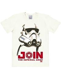 Star Wars - Stormtrooper - Engagez-vous dans l'armée impériale T-shirt à col rond - blanc antique - Design original sous licence - LOGOSHIRT