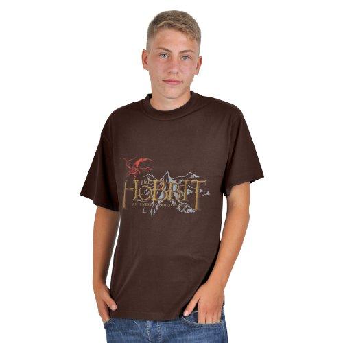Lo Hobbit - T shirt - An Unexpected Journey - Un Viaggio inaspettato - T shirt con stampa - XXL