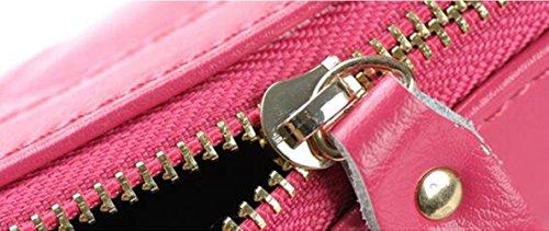 MeiliYH Fashion Gnocchi Bag Donne Oblique Croce Pacchetto Cuoio Borsa Donna Borsa giallo_chiaro