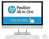 HP 2MK67EA#ABF Ordinateur Tout-en-Un 23,8 Blanc Transparent (Intel Core i5, 8 Go de RAM, 1 to, Intel HD Graphics 630, Windows 10 Home) Clavier AZERTY Français