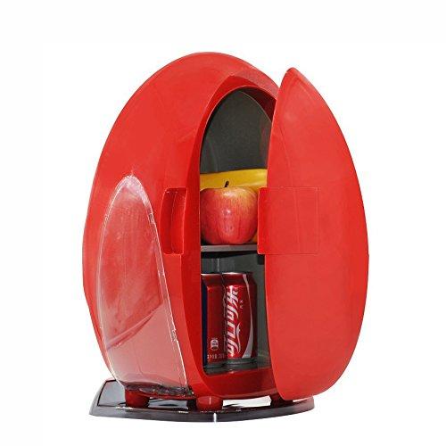 LT&NT Mini Boîte Chaude et Froide de Double Usage de Réfrigérateur de la Maison 10L de Voiture avec la Lumière 12V 220v-240v de LED
