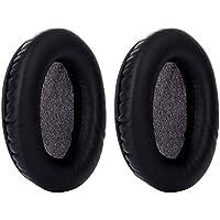 Yizhet 1 par Almohadillas de Repuesto Almohadillas para los Oídos Cojín de Repuesto para Auriculares Kingston HyperX Cloud II Gaming (Negro)