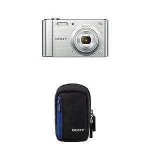 Sony DSCW800 Compact Digital Camera (20.1 MP, 5x Optical Zoom) from Sony