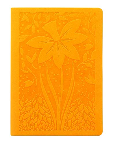 Letts Blossom A6 2019 Yellow 1 Woche auf 2 Seiten