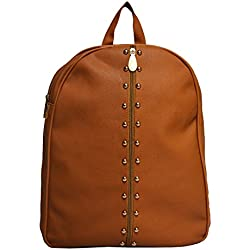 Vintage Stylish Girls School bag College Bag (In Four Colors)(bag r 318) (light brown)