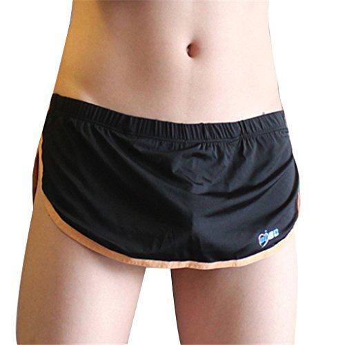 Mens Sexy Thong Penis Pouch G String Jock Strap Unterw?sche Low Taille Bikini Unterhose (Thong Jock)