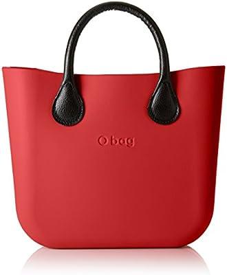 O bag - Obmb65_obmcv11, Bolsos de mano Mujer, Rosso (Amaranto), 31x29x12 cm (W x alto largo)