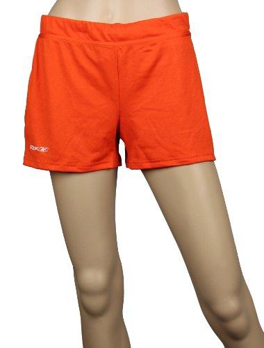Reebok - Short de sport - Femme orange Orange Large Orange