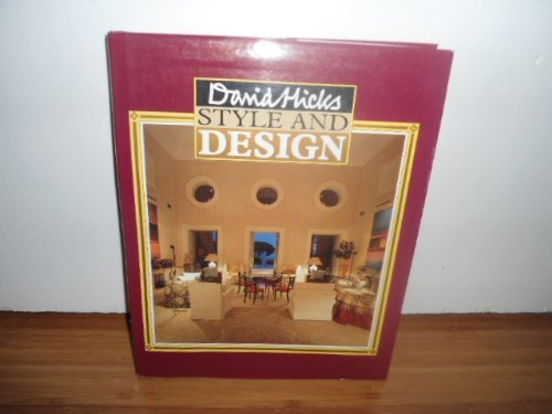 Style and Design by David Hicks (1988-04-01)