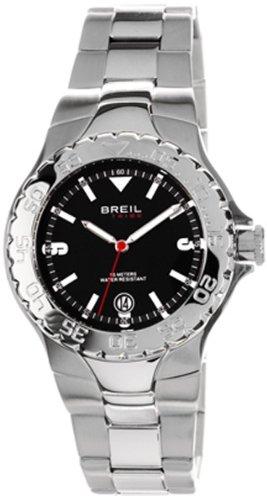 Breil Tribe - TW0091 - Montre Mixte - Quartz - Analogique - Bracelet Acier inoxydable Argent