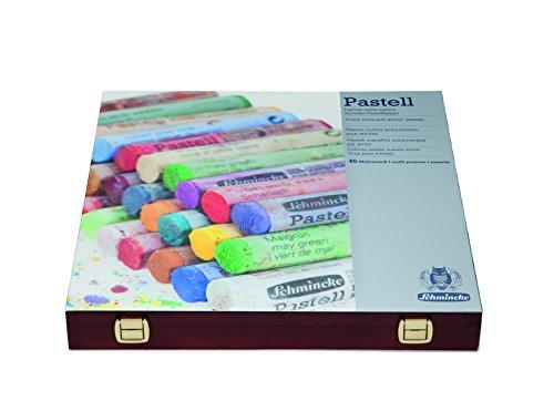 schmincke-pastels-surfins-extra-tendres-pour-artistes-coffret-en-bois-teint-noyer-45-btons-assortis