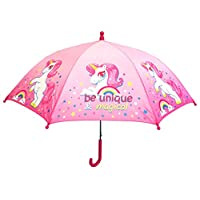Rainbow Unicorn Umbrella Brolly 60CM