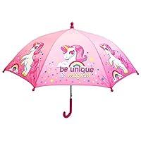Rainbow Unicorn Umbrella Brolly 60CM