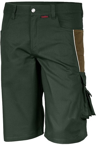 Qualitex PRO Shorts MG245 - oliv/khaki - Größe: 56