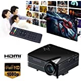 SLB Works Brand New Mini HD 1080P LED Projector Home Cinema Theater Multimedia PC USB TV AV HDMI UK