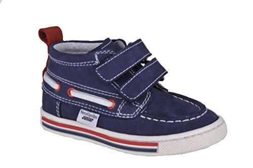 Nero Giardini Junior , {Chaussures premiers pas pour bébé (garçon) Bleu bleu 23 - Bleu - Puma Blu, 21 EU