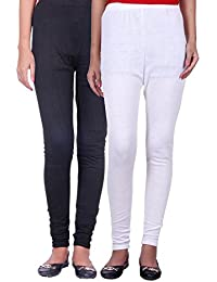 Belmarsh Warm Leggings - Pack of 2 (Black_White)