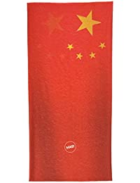 HAD Pañuelo Multifuncional Original para Adulto, China, Rojo/Amarillo, Talla única, HA110-0583