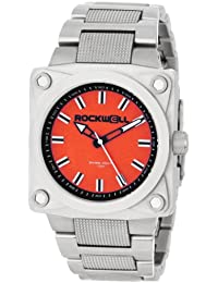 Rockwell Time Caballero SF103 747 Stainless Steel Silver and Red Reloj