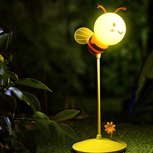 Nachtlicht Txxzn Led Licht Usb Aufladen 5v 0,8 W Moderne Bumble Bee Licht In Gelb/rosa Für Jeden Jungen Oder Mädchen Schlafzimmer gelb