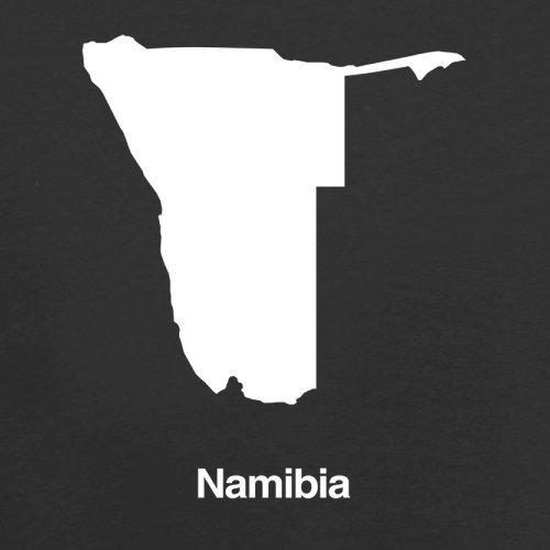 Namibia / Republik Namibia Silhouette - Herren T-Shirt - 13 Farben Schwarz