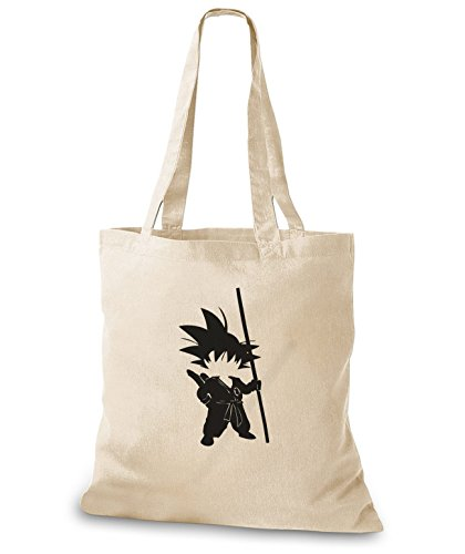 StyloBags Jutebeutel / Tasche Little Fighter Natur