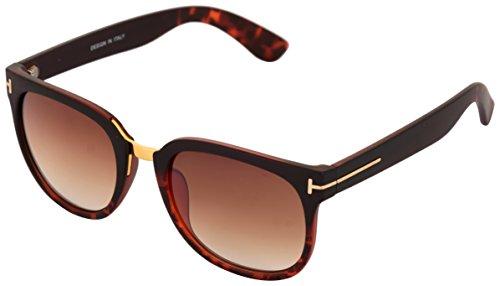 ADDON EYEWEAR brand UV Protected Unisex Wayfarer Sunglasses for men and women non polarized goggle 2017-(wayfarer lncn-7070-golden brown|50 mm|stylish Brown Lens)