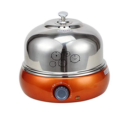 AN All-Metall Gedämpfter Ei, Intelligent Großräumige Eierkocher Edelstahl-Schale Eine Maschine Kann Sicher Automatische Abschaltung Dampf Ei Be