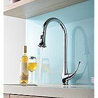 BBSLT Il rame manico unico foro singolo rubinetto di cucina
