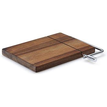 33cm rund Holz Creative Tops WA Käsebrett Schneidebrett KÄSE Eichenholz D
