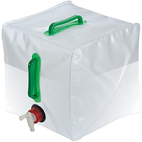 Silverline 159729 - Contenedor de agua plegable (20 litros)