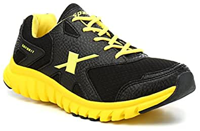 Sparx Men's Black and Yellow Running Shoes - 6 UK/India (39.33 EU) (SX0185G)