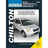 Honda Pilot/Ridgeline & Acura MDX Chilton Automotive Repair Manual