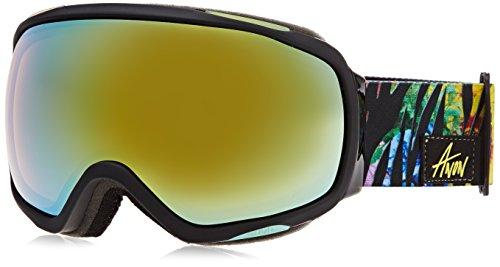 burton-hellbrook-clava-masque-de-snowboard-femme-jungle-gold-chrome-taille-unique