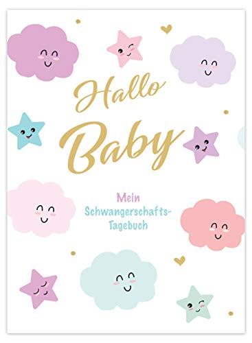 Edition Seidel: Hallo Baby, Mein Schwangerschaft-Tagebuch, Hardcover mit 96 Seiten Schwangerschaft Tagebuch