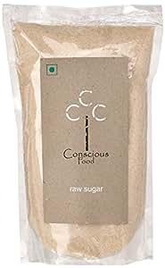Conscious Food Raw Sugar, 500g