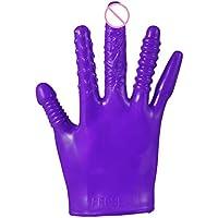 Sanyc Handschuh aus Gummi E X Tra gro/ß Latex Blau//Gelb