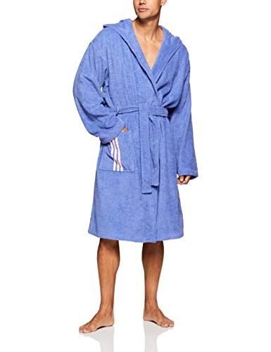 adidas Erwachsene Bathrobe Us Bademantel, Real Lilac/Clear Orange, M