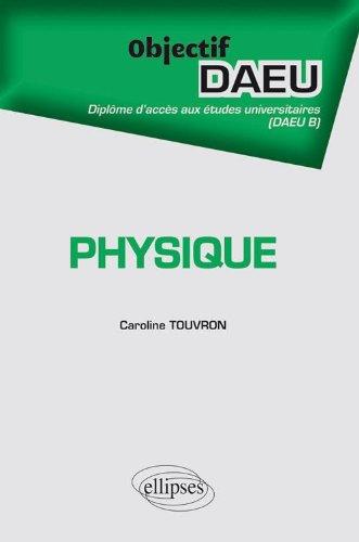 Objectif Physique DAEU